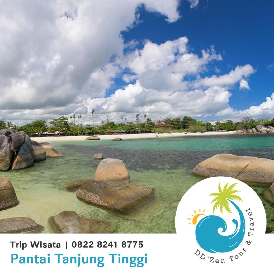 wisata pantai belitung timur