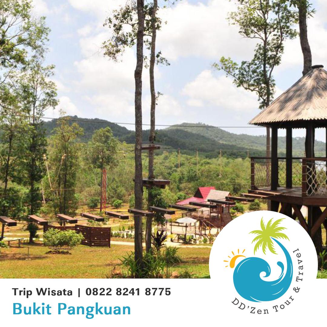 Bukit Pangkuan Obyek Wisata Pulau Belitung