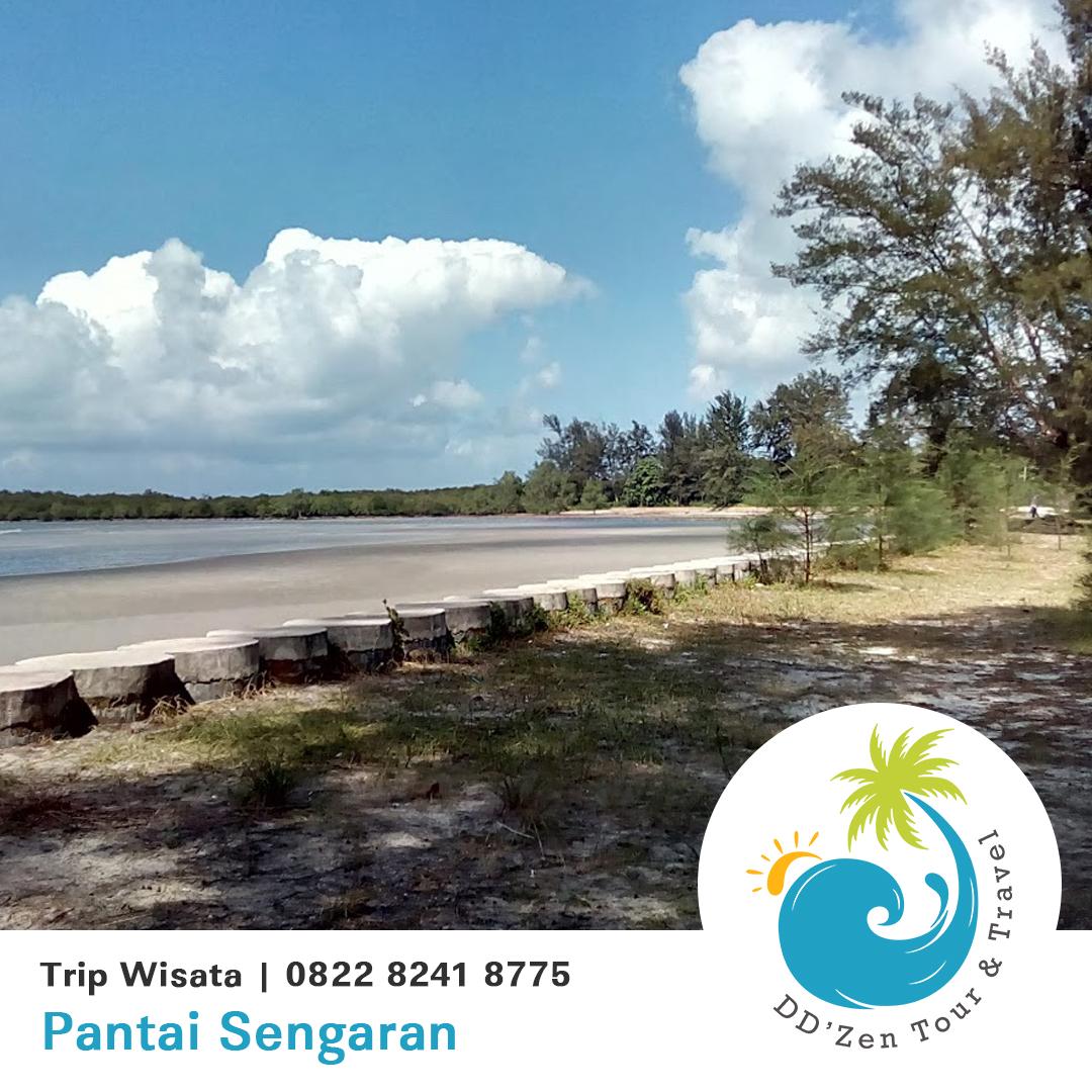 Pantai Sengaran Obyek Wisata Pulau Belitung