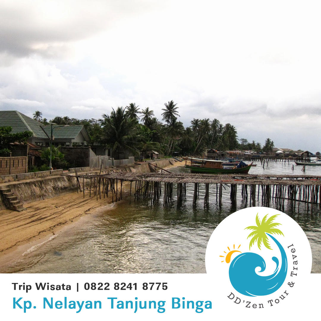 Desa Nelayan Pantai Tanjung Binga Obyek Wisata Pulau Belitung
